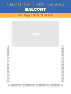 Octoroon seating chart BALC-01