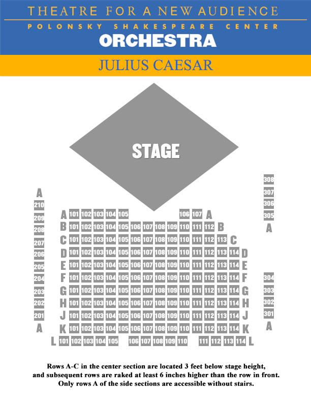 Julius Caesar Orchestra Seating Chart